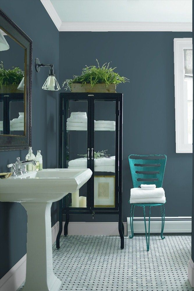 1000 ideas about Benjamin Moore Bathroom on Pinterest