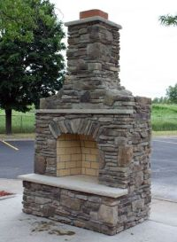 25+ best ideas about Outdoor fireplace designs on ...