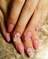 Natural Looking Acrylic Nail Shape | www.imgkid.com - The ...