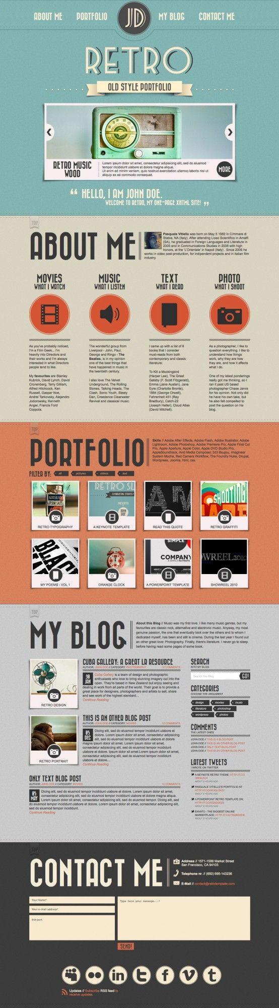 25 Best Ideas about Online Portfolio Design on Pinterest  Layout online Portfolio design