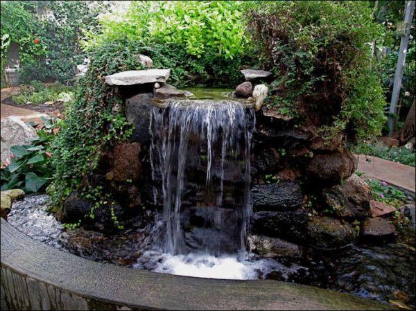 stand stone waterfall