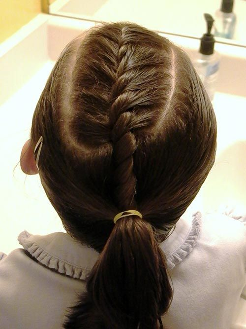 Top 13 Trendy Hairstyles For Kids French Braided