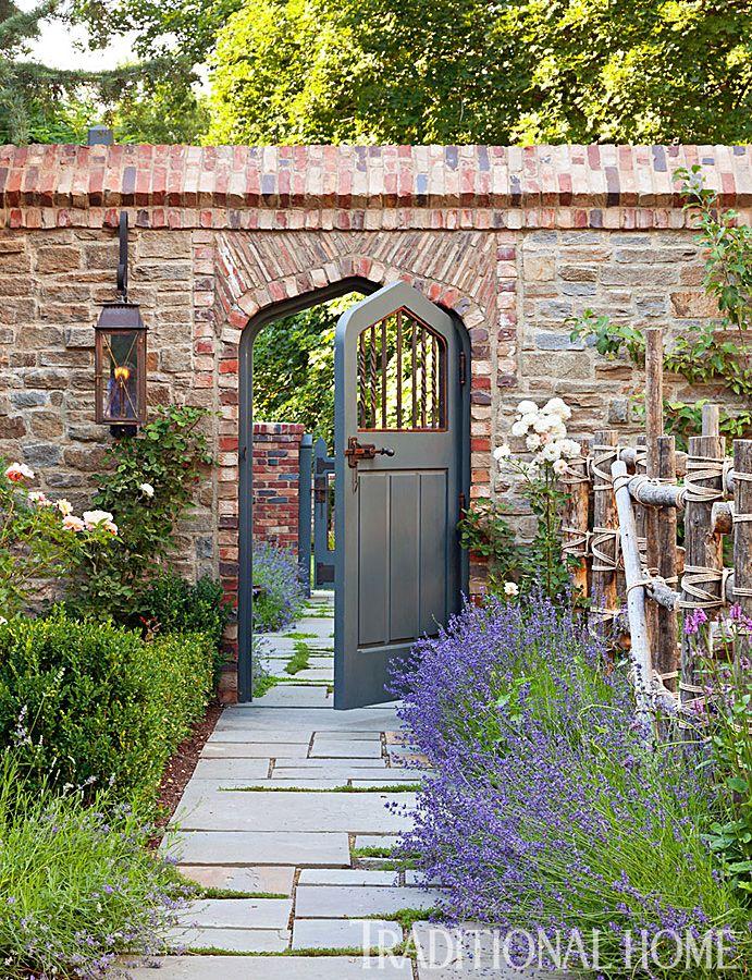 17 Best Ideas About Brick Wall Gardens On Pinterest Garden Wall