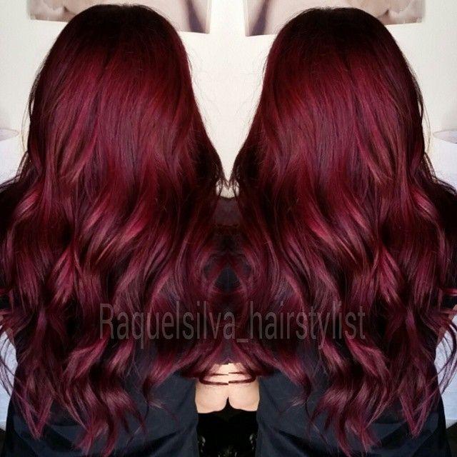 25 best ideas about Dark red hair on Pinterest  Deep red