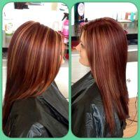 Best 25+ Red highlights hair ideas on Pinterest | Fall ...