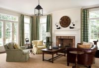 Living Room in 19th-Century Greek Revival Home: John B ...