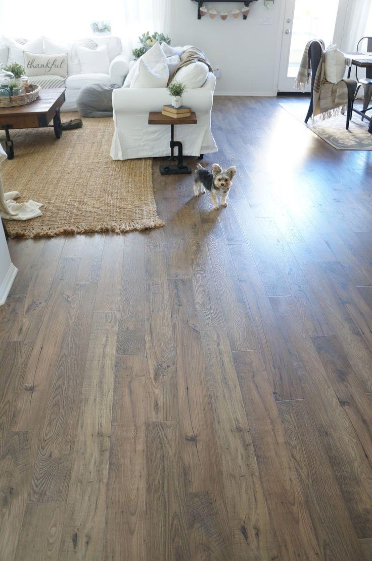 laminate flooring Mohawk Bourbon Mill in Nutmeg Chestnut