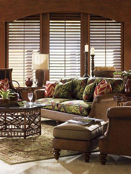 island style decorating living room ideas grey sofa tommy bahama estate hamilton lx-1761-33 ...
