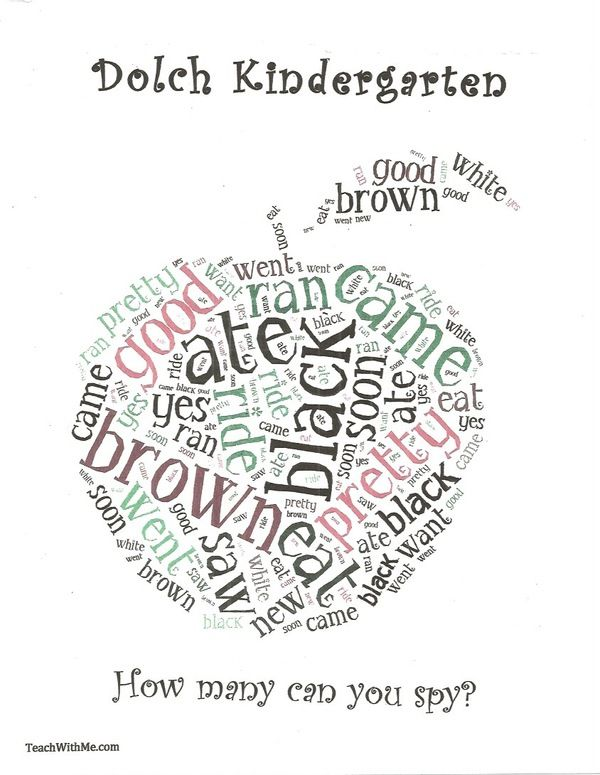 1000+ images about Dolch Word Activities: on Pinterest