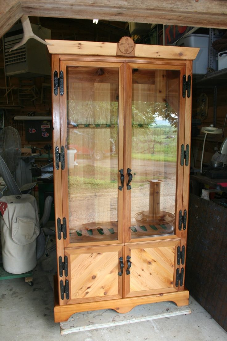 Cedar Gun Cabinet For Sale  WoodWorking Projects  Plans