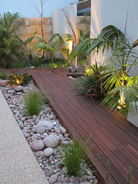25 Best Ideas About Tropical Backyard Landscaping On Pinterest