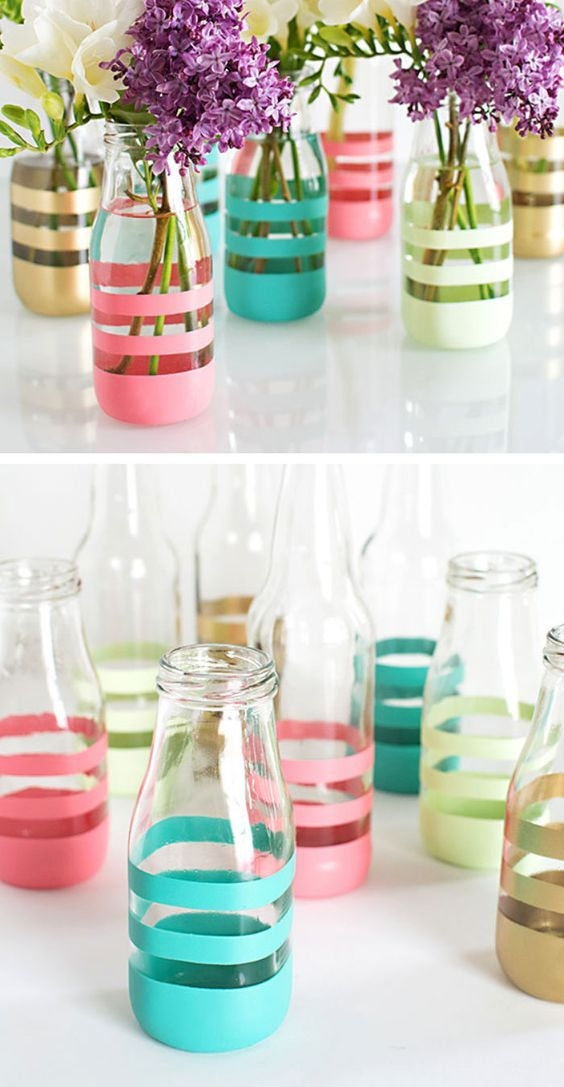 25 Best Ideas About Decorating Vases On Pinterest Diy Painted