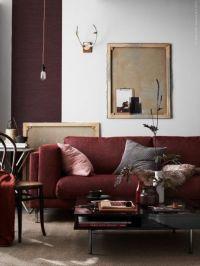 25+ best ideas about Burgundy Couch on Pinterest   Dark ...