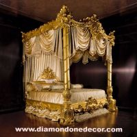 """Nightingale"" Baroque Luxury Gold Leaf Rococo French ..."