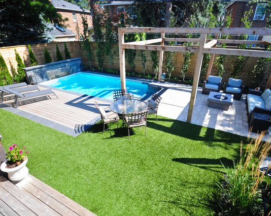 The 25 Best Ideas About Small Backyard Pools On Pinterest Small