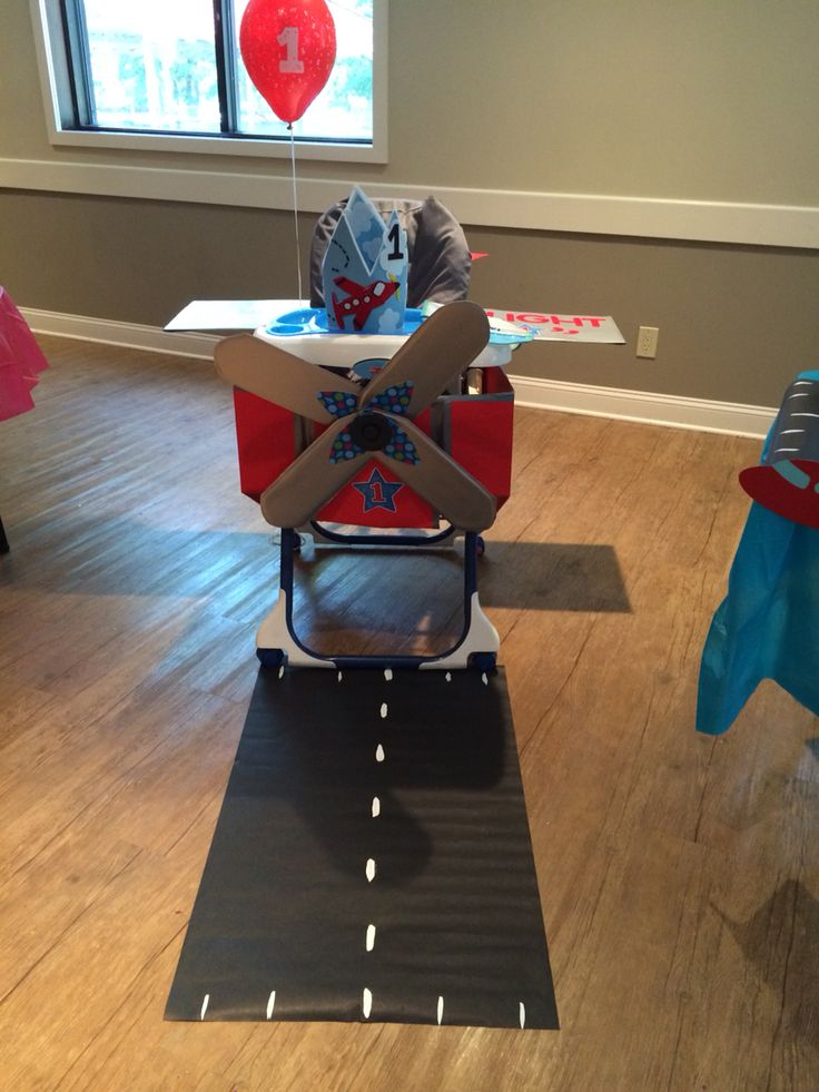 baby chair 1 year old pottery barn toddler my son jase had his own airplane for first birthday.