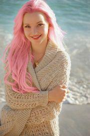 dove cameron's pink long mermaid