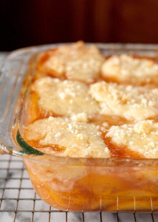 peach cobbler recipes pinterest te Şeftaliler hakkında 1000 den