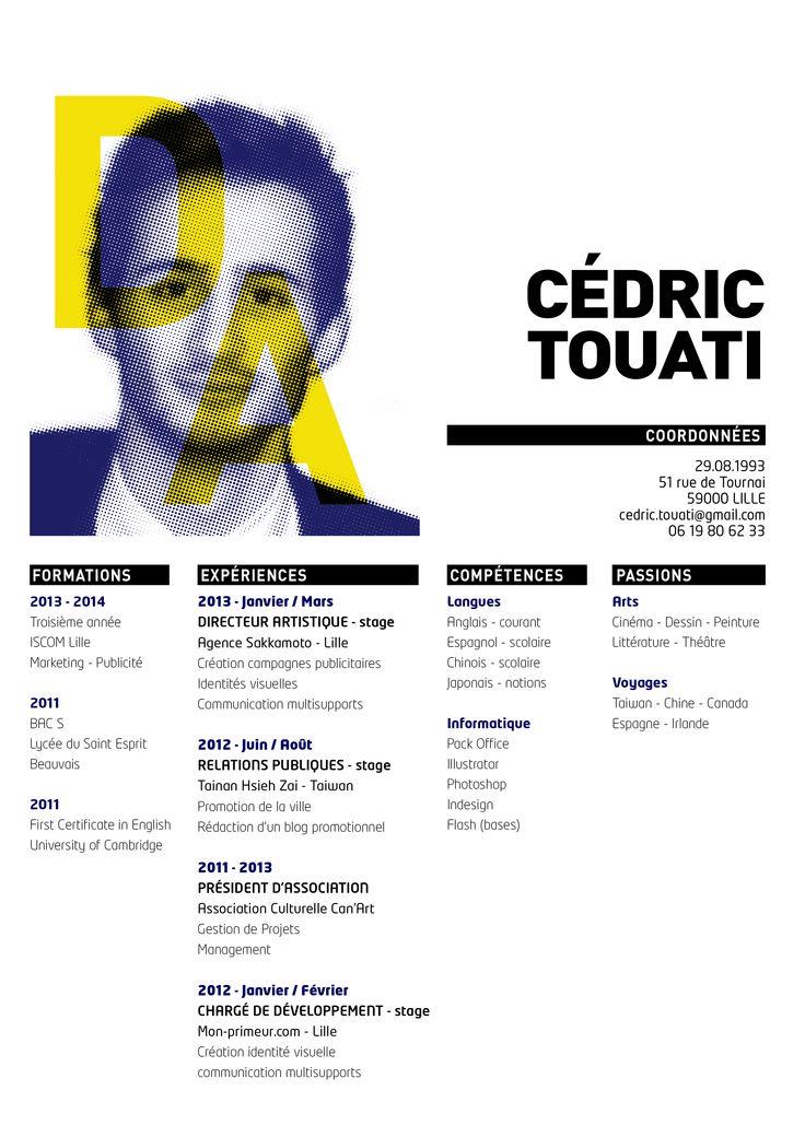 Cédric Touati Directeur Artistique Art Director CV