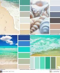 25+ Best Ideas about Beach Color Palettes on Pinterest