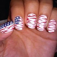 192 best images about Fourth of July | Patriotic Nail ...