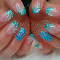 25+ best ideas about Acrylic nails glitter on Pinterest ...