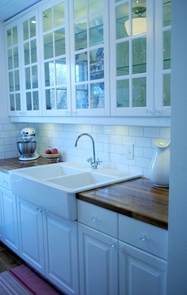 Sallys Sweet Galley Kitchen  IKEA Lindingo cabinets