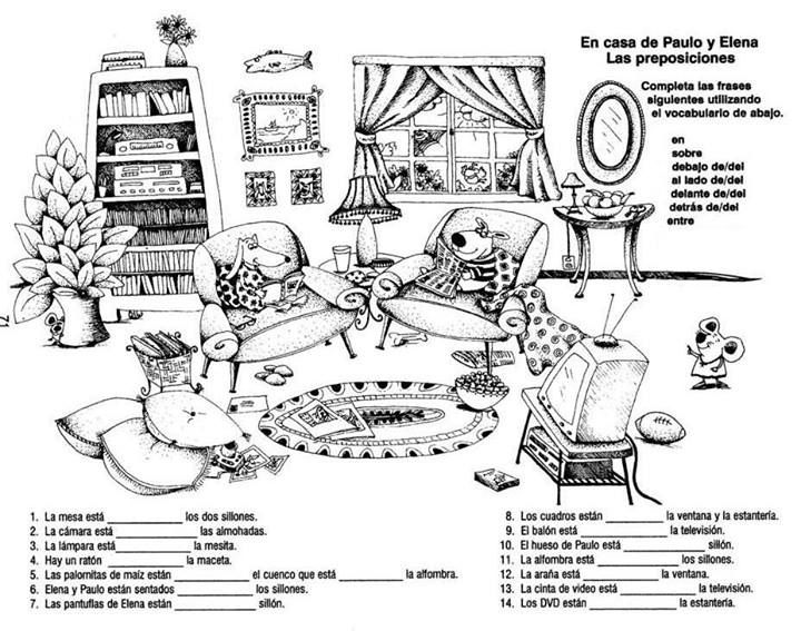 25+ best ideas about Spanish Worksheets Family on