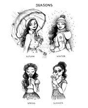 1000 ideas cute girl drawing