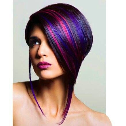 25 Best Ideas About Highlights In Black Hair On Pinterest