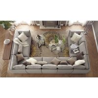 love this huge couch! Moda 9-Piece Sectional Sofa in ...