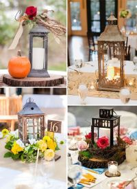 25+ best ideas about Rustic lantern centerpieces on ...