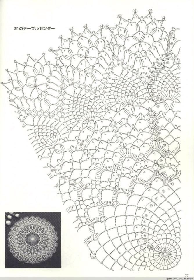 17 Best images about Create: Crochet: Doilies/Tablecloths