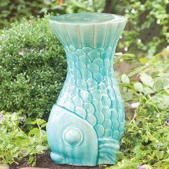Bistro Chairs Outdoor Hammock Chair Stand On Sale #fish Ceramic Garden Stool | Grand Gardens Pinterest Gardens, Ceramics And Stools