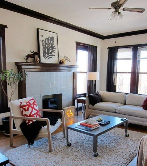 30 best images about Wood trim and white walls on Pinterest