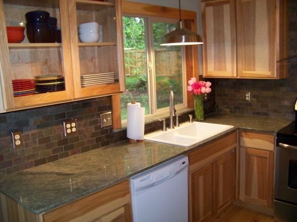 65 Best Hickory Cabinets And Images On Pinterest