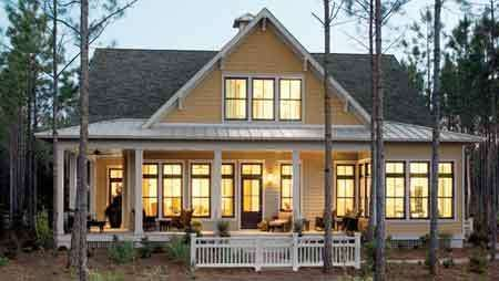 i just want a house on some land.. Love this style.. Wrap around porch, windows,