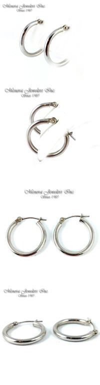 17 Best ideas about Small Gold Hoop Earrings on Pinterest