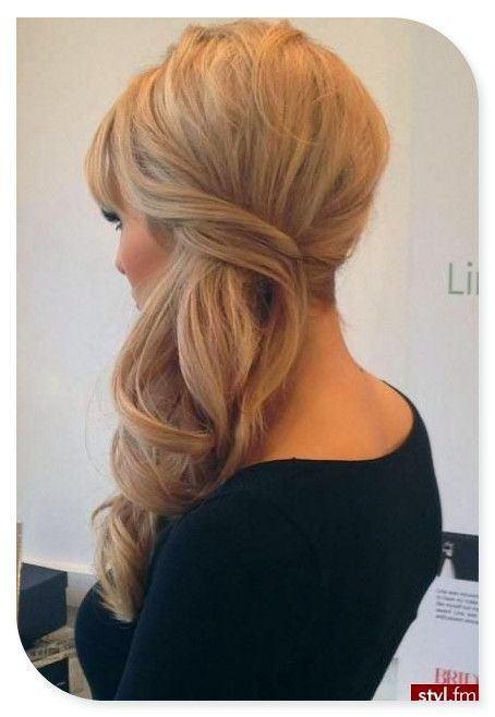 25 Best Ideas About Bridesmaid Side Hairstyles On Pinterest