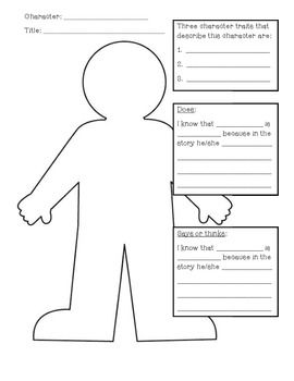 1000+ ideas about Character Activities on Pinterest