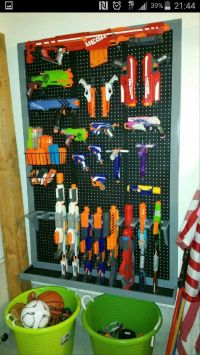 25+ Best Ideas about Nerf Gun Storage on Pinterest | Big ...
