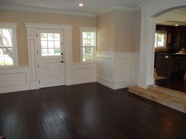 Tustin Ranch Style Home love step up and all molding