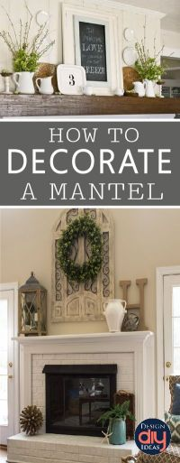 1000+ images about Beautiful Mantels on Pinterest ...