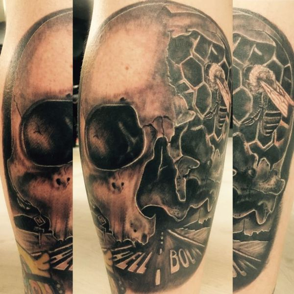 1000 ideas evil skull tattoo