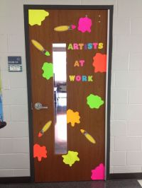 17 Best images about Art Room Doors on Pinterest
