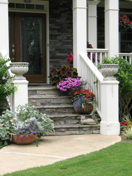 25 Best Ideas About Porch Stairs On Pinterest Front