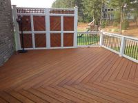 deck privacy wall | Forest Deck from Cary Deck & Screen ...