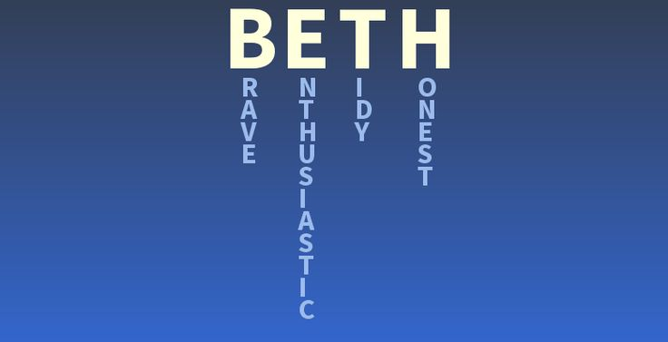Your name Beth  What does your name mean  cool things  Pinterest  Search Google and Names