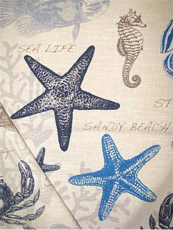 linen sofa slipcover lounge amman facebook 17 best images about seaside fabric on pinterest   cotton ...