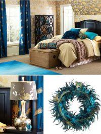 25+ best ideas about Peacock bedroom on Pinterest   Jewel ...